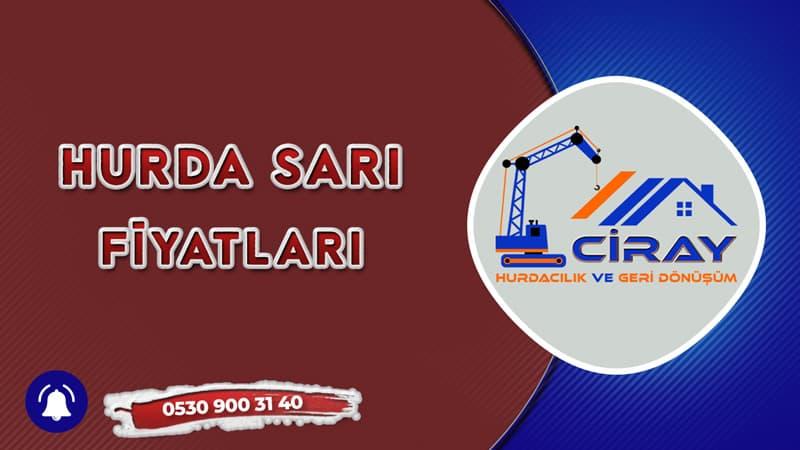Trabzon Hurda Sarı Fiyatları